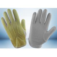 Quality Ladies Cycling Cotton Work Gloves Interlock Finger Design 23 - 27g Per Pair for sale