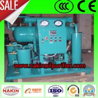China High Vacuum Insulating Oil Purification Plant on sale