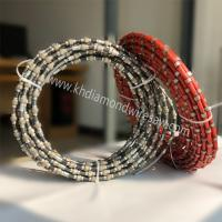 Buy cheap High quality stone diamond wire saw mine rope saw beads for marble concrete and from wholesalers