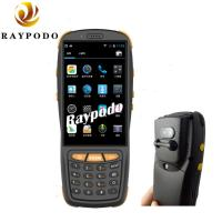 Quality NFC Reading RFID Barcode Scanner , QR Code Pda Portable Device HD Camera GPS Navigation for sale