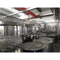 Quality 30000BPH Apple Juice Making Machines , Rinsing Capping Mango Juice Filling Line for sale