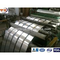 Quality Both Sides Transparent Lacquer Aluminium Strip For Vial Seal for sale