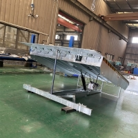 China Full Hot Galvanized Electric Dock Leveler for sale