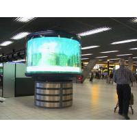 Quality 3 in 1 Auto , 8 levels Indoor Full color rgb curved LED Display SMD P4 P5 P6 P10 for sale