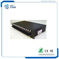 Quality Reliable 10/100/1000M Rack Mounted Fiber Optical Media Converter with 16 sloth for sale