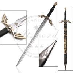 "Quality 50"" Video Game Replica Swords Legend Of Zelda Black Skyward Master Sword for sale"