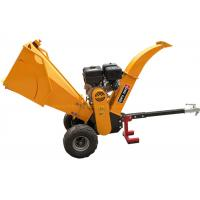 Quality 15HP Gasoline Engine 5 Inch Wood Chipper With Recoil / Electric Starting System for sale