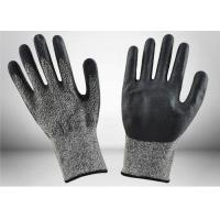 Quality Eco Friendly Cut Resistant Gloves Level 5 Protection Enhanced Flexibility for sale