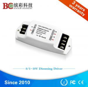 China BC-330 DC 12V 24V 10A Constant voltage 0-10V led dimming driver, 1 channel 0-10V PWM led driver on sale