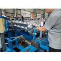 Quality High Speed Steel Roof Tile Roll Forming Machine For Galvanized Sheet / PPGI for sale