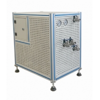 China 1KW 20L/Min Air Cooled Water Chiller System With Flow Measurement for sale