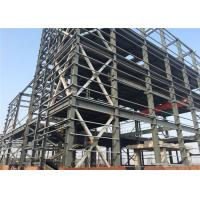 Quality Large Residential Metal Buildings , Galvanizing Prefabricated Steel Frame Buildings for sale