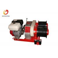 Quality Three Ton Diesel Cable Winch For Laying Cable Or Erecting Of Pole Pylon for sale