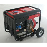 Quality AC SIngle Phase 50HZ/4.6KW Key Start silent diesel generators for home use and shop for sale
