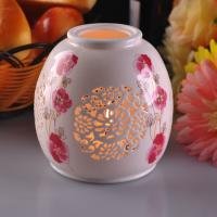 Quality PersonalisedCeramic Candle Holder Handmade HeatResistant ASTM Test for sale