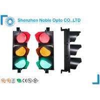China 300mm 12'' Solar Powered Traffic Light System Intelligent Red Yellow Green Cobweb Lens on sale