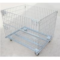 Best storage boxes bins foldable cage wire mesh container steel container steel crate wholesale