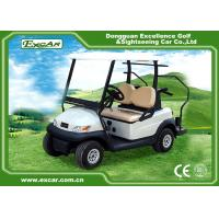 Quality Excar Mini 2 Person Second Hand Golf Cars 48V Trojan Battery With Caddie Plate for sale