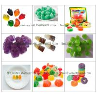 China A to Z Fruit Jelly Gummy production line Coca Cola Gummy Processing Line 300kg/H for sale