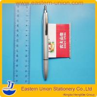 Best High class silver plastic flyer ball pens,luxury banner pen for promotion wholesale