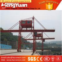 Quality Widely used portal crane, 40 ton Rubber Tyre Gantry Crane for sale