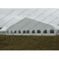 Quality Transparent Windows Curved Tent Aluminum Frame Easy Dismantled For Outdoor Event for sale