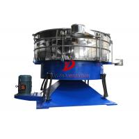 Quality Carbon Steel Round Compost Tumbler Screener For Sieving Granular Materials for sale