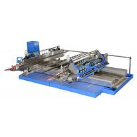 Quality Professional Blue Glass Straight Line , Double Edger Machine High Speed,Double Glass Edger,Straight Line Glass Edger for sale