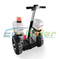Buy cheap EcoRider electric scooter patrol model segway scooter with double battery 1266Wh 72V from wholesalers