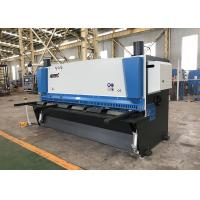 China 0.5°~1.5° Angle Hydraulic Guillotine Shearing Machine With Anti Twist System on sale