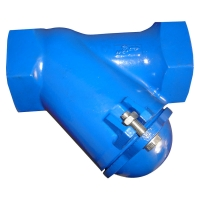 Quality Ductile Iron  GGG40 DN25 DN80 Thread Ball Check Valve for sale