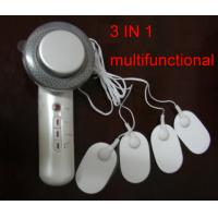 China 3 function 1M Hz ultrasonic+infrared+EMS Electric massage body massager relief back pain on sale