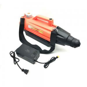 Quality Orange color Mini Electric Indoor Ulv Sanitize Sprayer Fogger Machine Wirh Battery 3l Tank for garden for sale