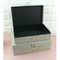 China Luxury Rigid Cardboard Custom Printed Jewelry Boxes , Jewelry Gift Boxes With Closure on sale
