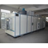 PLC Automatic Industrial Air Dehumidifier With Cooling Coil 6000m3/h