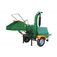 Quality 40HP 8 Inch Wood Chipper High Efficiency With 1025rpm Flywheel Turning Speed for sale