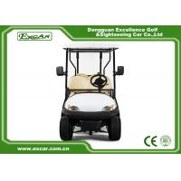 Quality 6 Seater Tourist Use Used Electric Golf Carts / Electric Sightseeing Bus Trojan Battery for sale