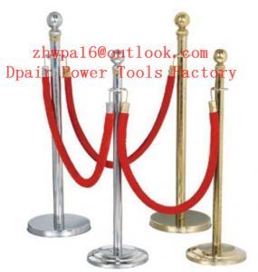 Quality Retractable Hazard Belt Barrier Crowd Control Stanchions for sale