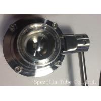 Quality AISI304 Stainless Steel Sanitary Valves ASTM A270 Surface Polished for sale