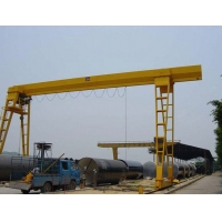 Quality 9m High 5T 10T MH Single Beam Gantry Crane For Factory for sale