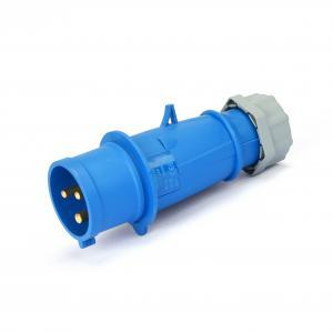 Quality Dustproof 230v 3P 32A IP44 Industrial Plug Socket for sale