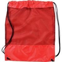 Quality Mesh Promotional Drawstring Backpack - shoes bags- 15w x 16.5h for sale
