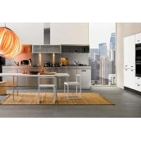Best L Shape With Basket And LED Light Stainless Steel Kitchen Cabinet For Apartment Use wholesale