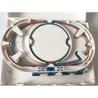 Quality Easy Installation Fiber Optic Termination Box , Waterproof 4 Cores FTTH Distribution Box for sale