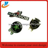 China Wholesale logo golf ball marker hat clip and divot tool set,customized golf accessory products on sale