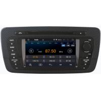 Quality Seat Ibiza 2009+ Auto Radio GPS 6.2 Inch Digital Touch Screen Stereo DVD Player For Car for sale