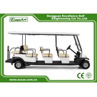 Quality EXCAR Electric Golf Buggy With Trojan Acid Battery / Curtis Controller for sale
