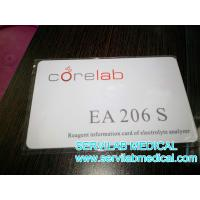 Quality Corelab EA206S Electrolyte Analyzer Reagent information card for sale