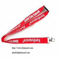 Quality Flat Polyester Bespoke Lanyards for sale