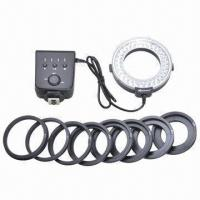 China Macro LED Ring/Flash LED Ring Light with 60 Bulbs, Works with Flash Triggers, Nikon, Canon  on sale